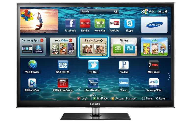 Samsung PN60E550 60-Inch Plasma HDTV - Featured Image