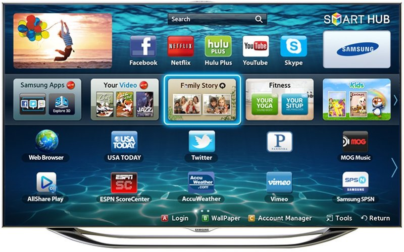 Samsung UN60ES8000 60-Inch TV - Featured Image