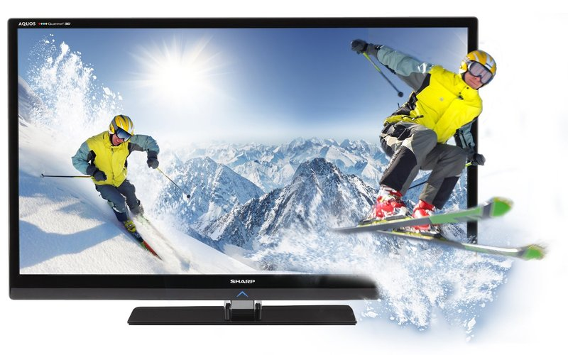 Sharp LC60LE835U Quattron 60-Inch TV - Featured Image